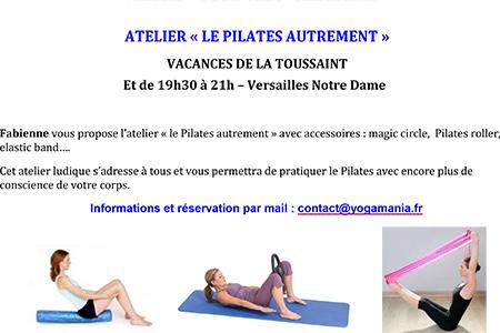 Yoga et Pilates pendant les vacances à Versailles et Paris