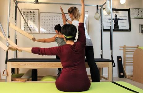 Stage Pilates Appareils Sol Automassage