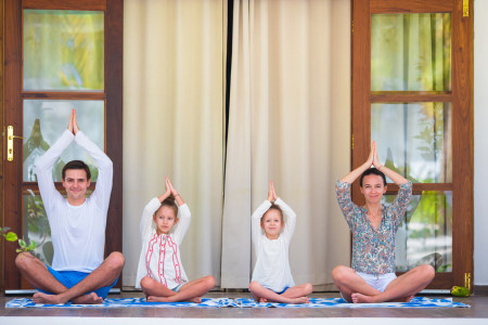 atelier de yoga parent enfant